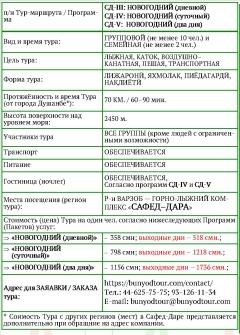 Сафед-Дара_новогодний